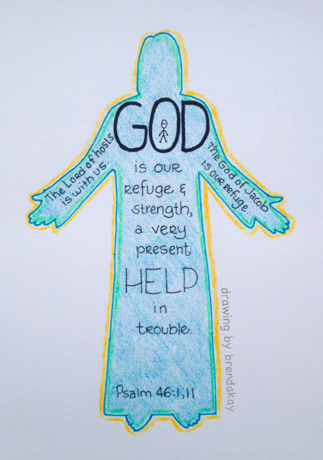 God is My Refuge wm