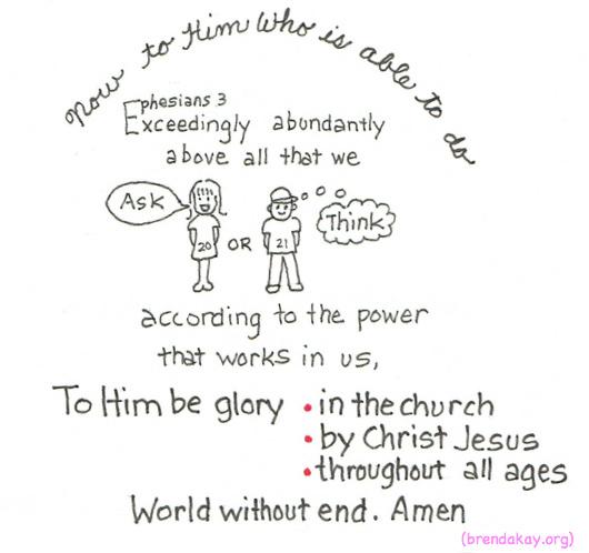 Ephesians 3.21,21