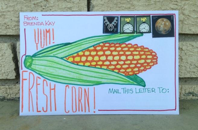 corny letter